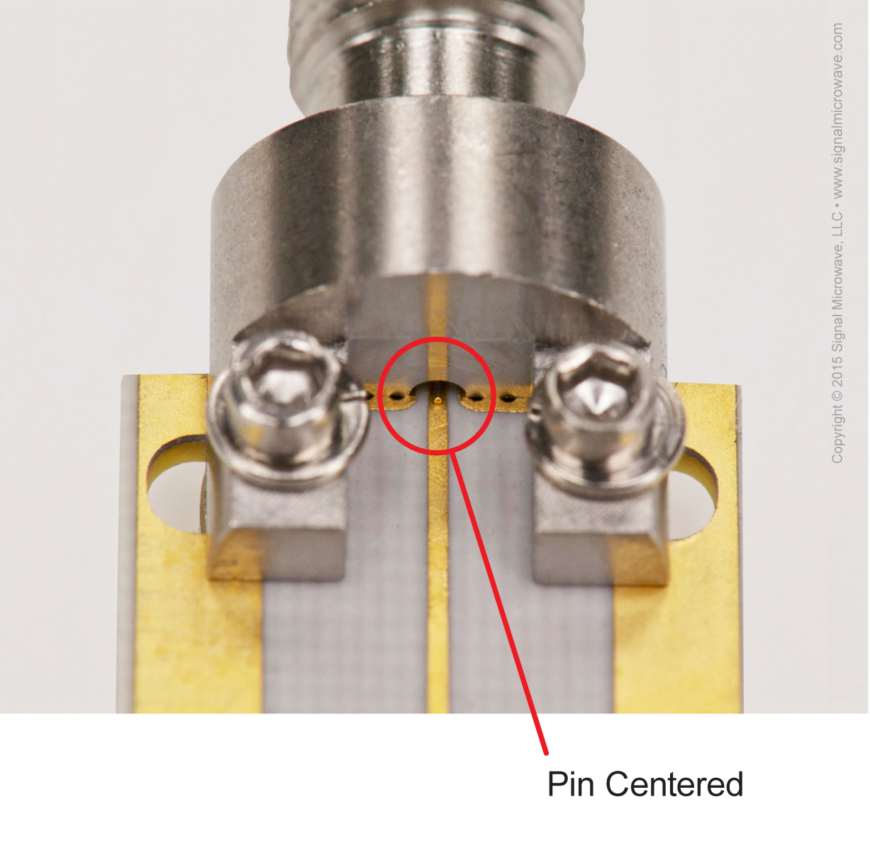 End Launch Pin Alignment Diagram