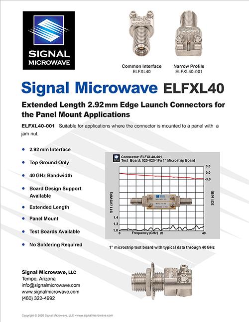 ELFXL40 Datasheet