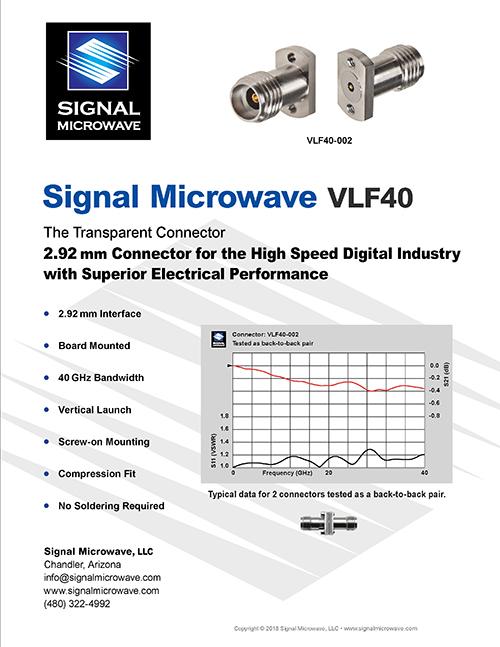 VLF40 Datasheet